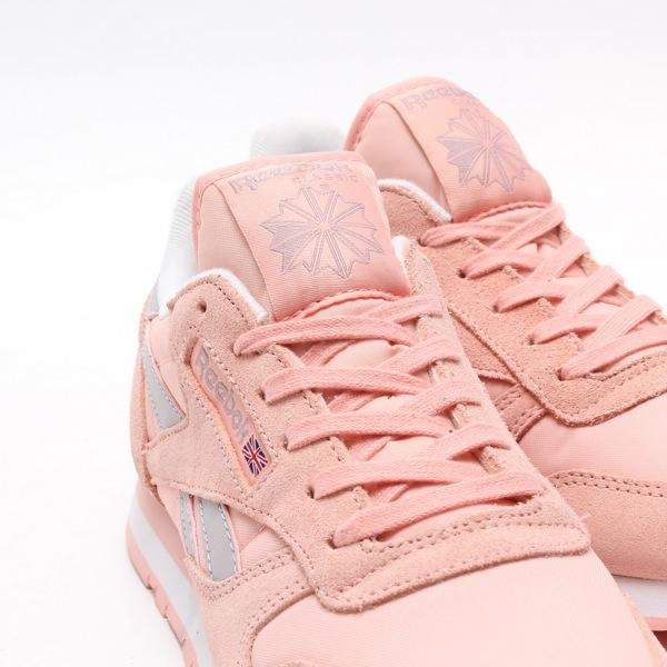 reebok classic leather seasonal pink