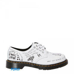 БОТИНКИ DR. MARTENS 1461 SCRIBBLE BACKHAND