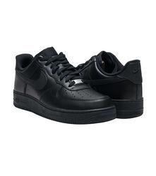 Кроссовки  Nike Air Force 1 07 Black/Black 315122 001