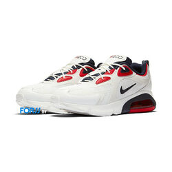 Кроссовки Nike AIR MAX 200 (White-red)