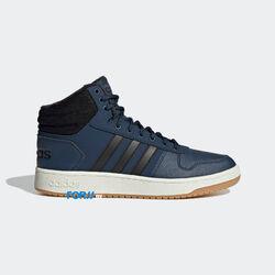 Кроссовки Adidas HOOPS 2.0 (Crew Navy / Core Black / Gum)