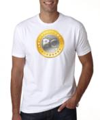 Футболка Bitcoin White