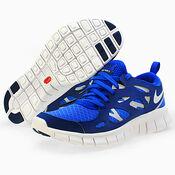 Кроссовки  Nike NIKE FREE RUN 2.0 BG 443742 402